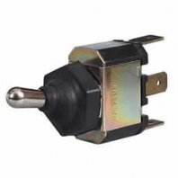 DURITE <BR> Splashproof On/Off/Momentary On Toggle Switch with Rubber Gaiter<br>ALT/0-496-40